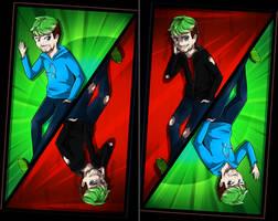 Jack and Anti Mirror image