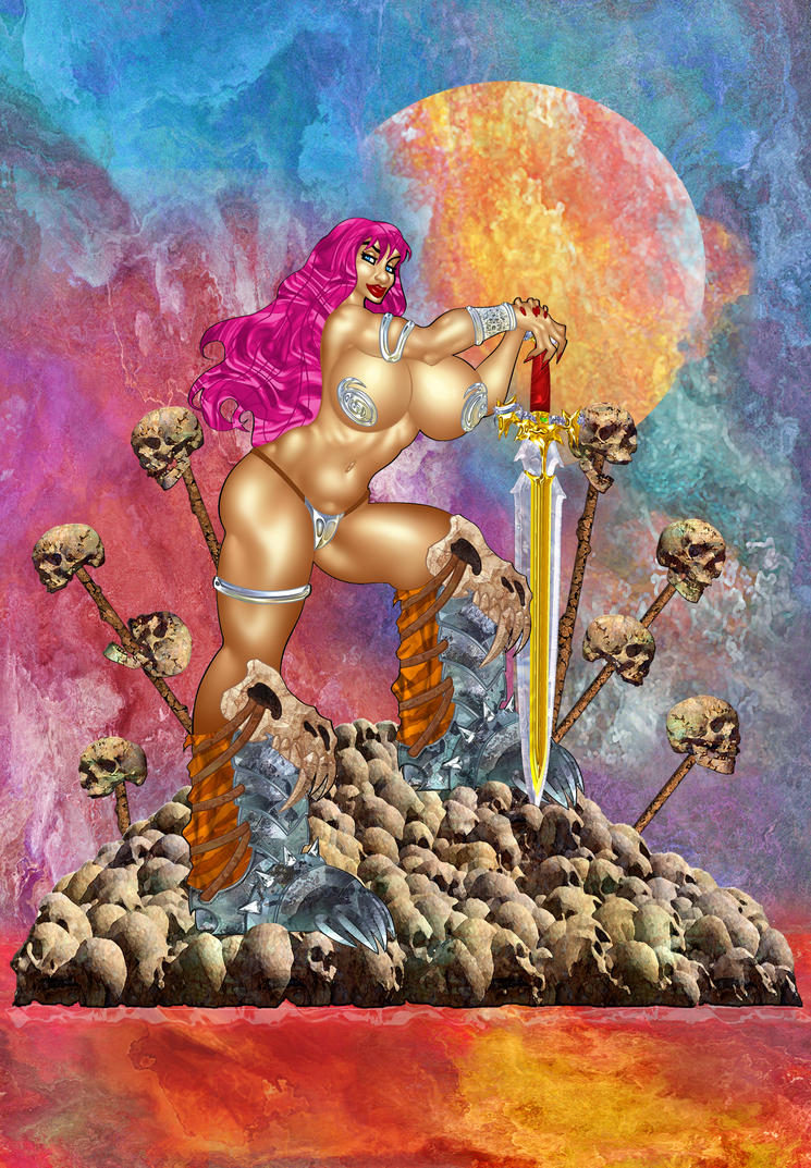 The Savage Sword of Sharona by ArtbroJohn
