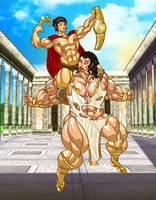 Mythological Mayhem by ArtbroJohn