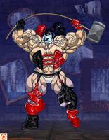 JLA: gods and Monsters Harley Quinn by ArtbroJohn