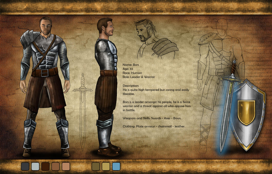 Digital Character Profile Worksheet by Hercool on DeviantArt – Character Profile Worksheet
