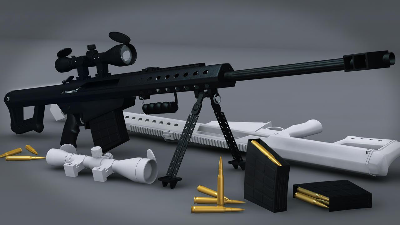 Barrett m95 50cal by hercool on deviantart - Barrett 50 wallpaper ...