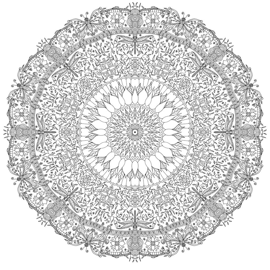 Garden Mandala by WelshPixie