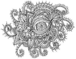 Eye Doodle by WelshPixie