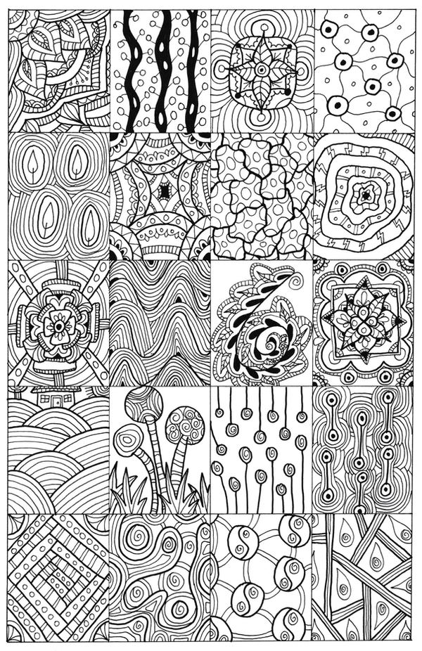 Line Drawing Ideas Ks : Doodle sampler by welshpixie on deviantart