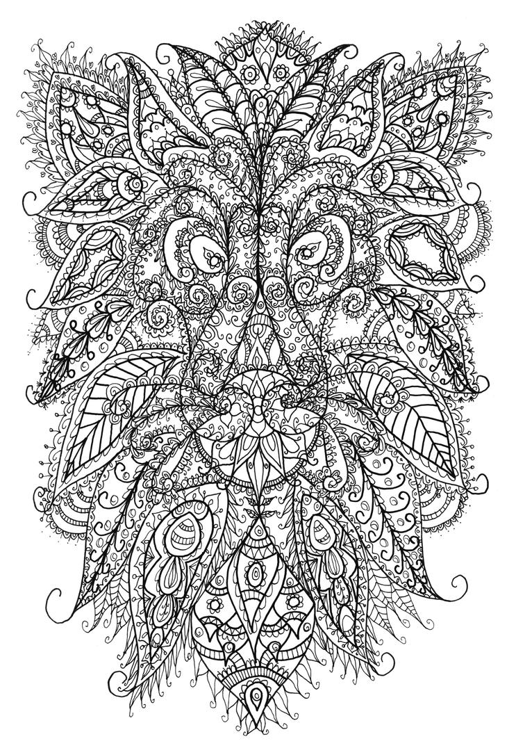 Lion Doodle By WelshPixie On DeviantArt