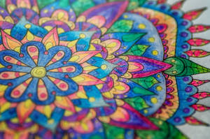 Finished Colouring - close up by WelshPixie