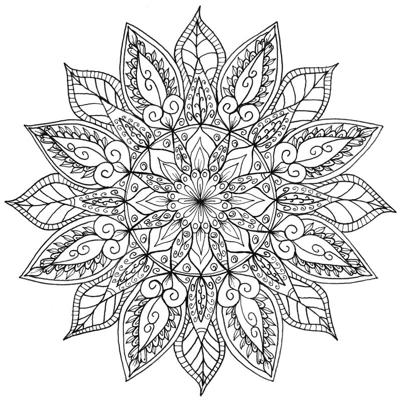 Floral Mandala by WelshPixie on DeviantArt