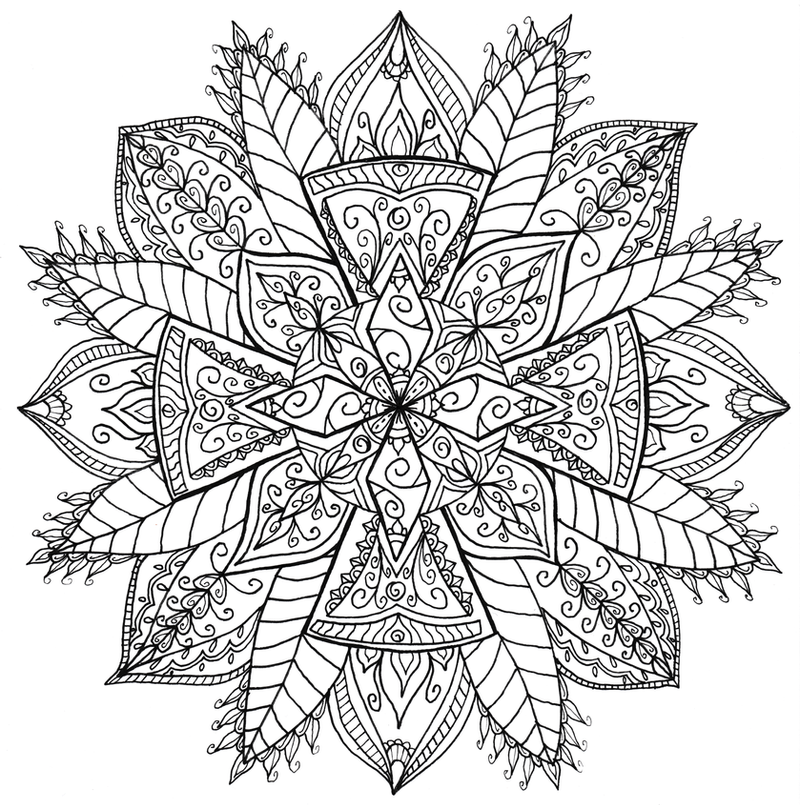 Celtic cross mandala by welshpixie on deviantart for Adult coloring pages cross