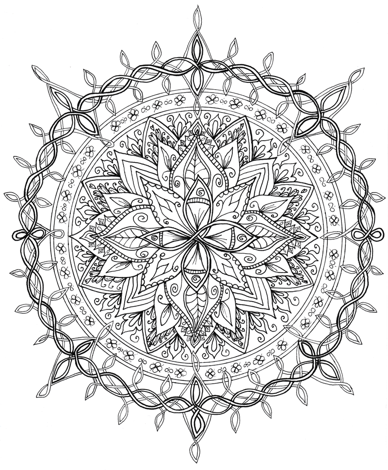 Celtic Knotwork Mandala By WelshPixie On DeviantArt