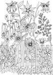 Garden Gate Doodle