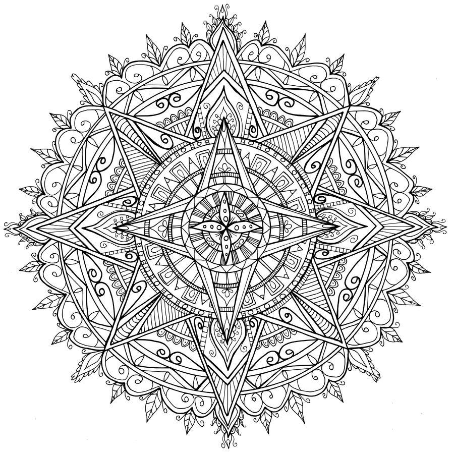 Star Mandala by WelshPixie on DeviantArt