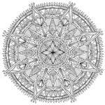 Diamonds Mandala