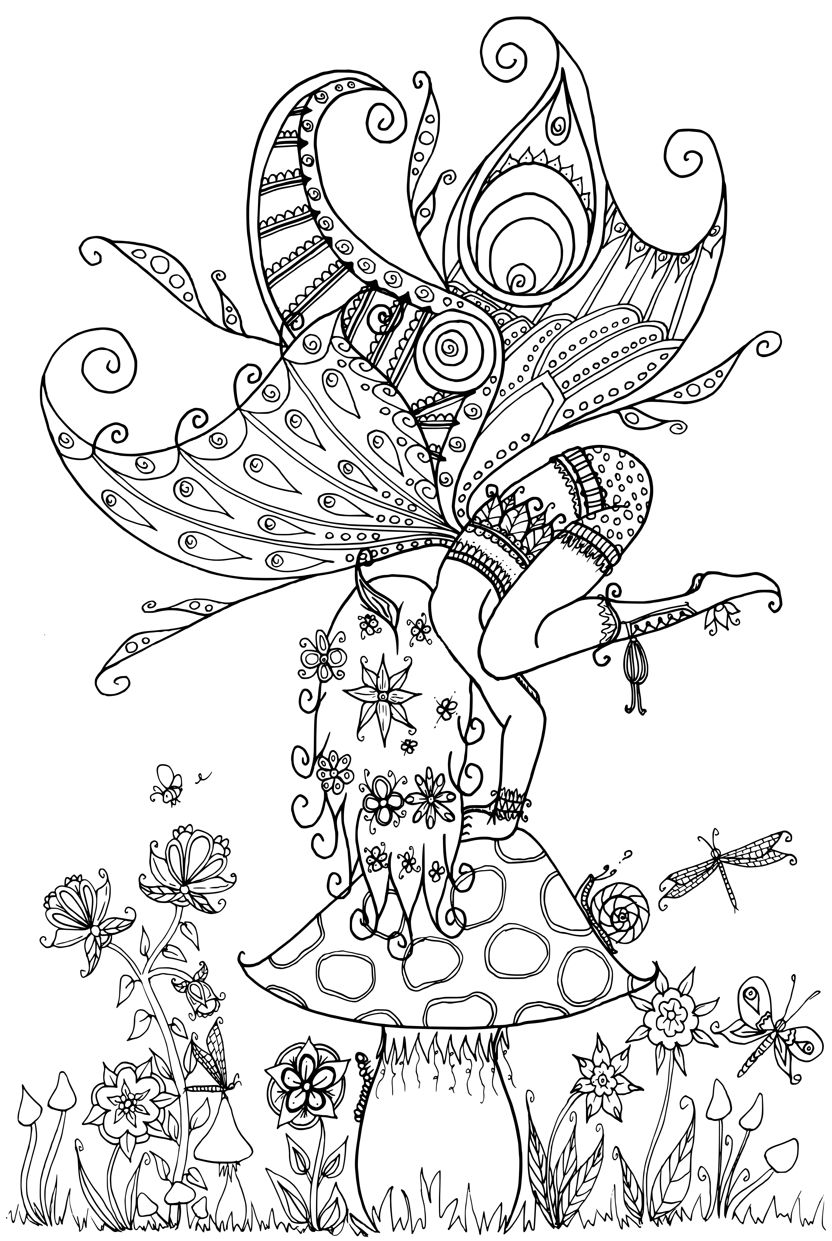 Fairy on a Toadstool by WelshPixie on DeviantArt