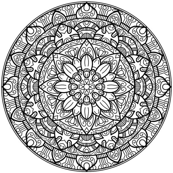 Krita Circles Mandala 2 by WelshPixie