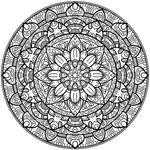 Krita Circles Mandala 2