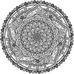 Krita Circles Mandala 6