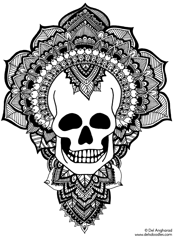 Skull Doodles