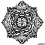 Hand-Drawn Mandala 2