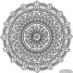Hand-Drawn Mandala 7