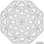 Gemstones Mandala