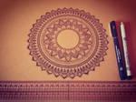 WIP Hand-Drawn Mandala