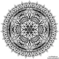 Stipple Mandala 2