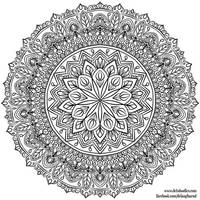 Krita Mandala 33 by WelshPixie
