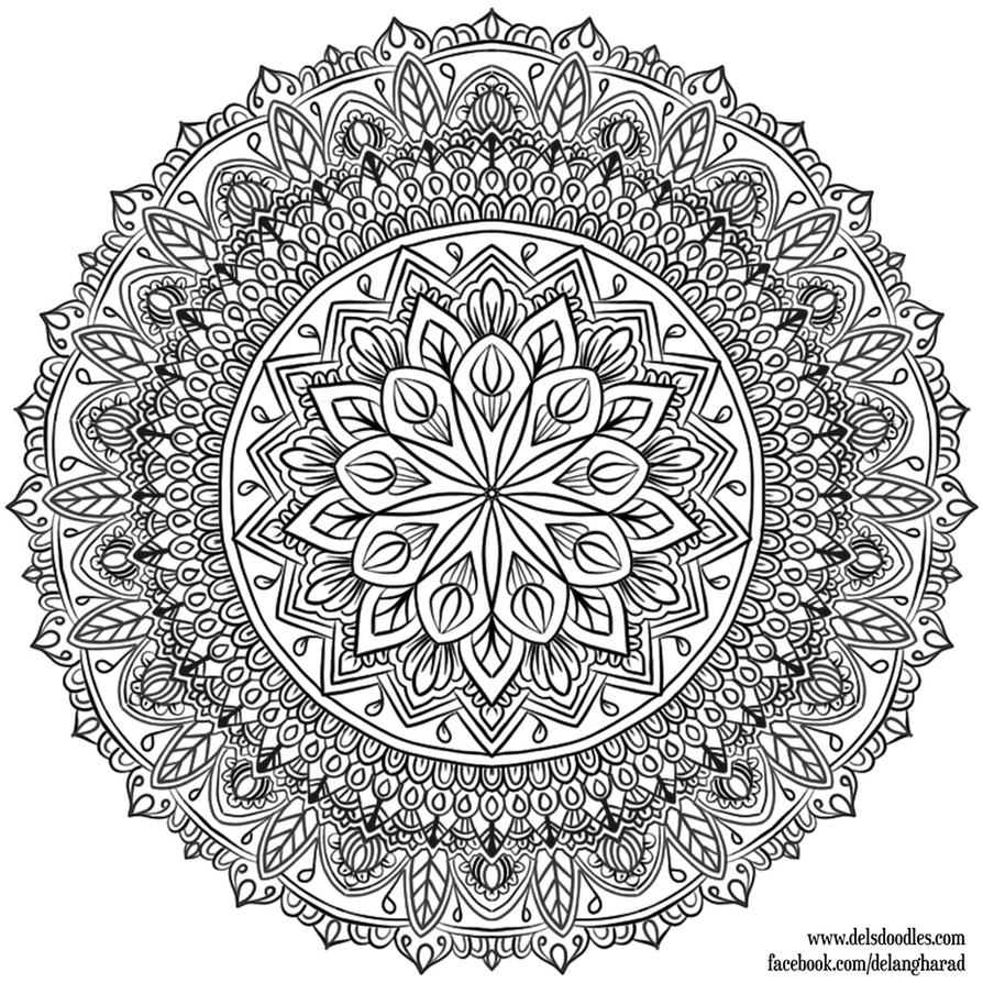 Krita Mandala 33 by WelshPixie