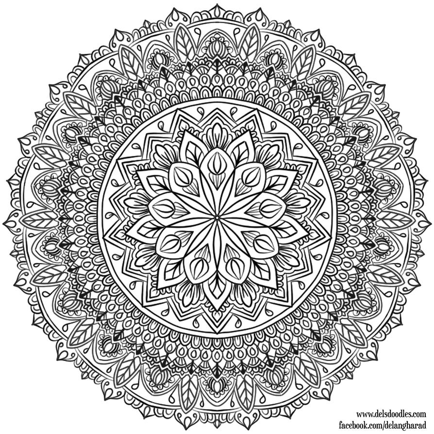 krita mandala 33 by welshpixie on deviantart. Black Bedroom Furniture Sets. Home Design Ideas