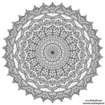 Krita Mandala 35 by WelshPixie