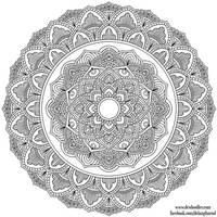 Krita Mandala 36 by WelshPixie