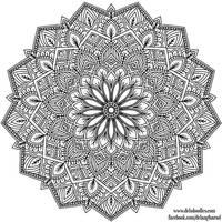 Krita Mandala 37 by WelshPixie