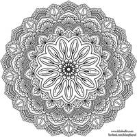 Krita Mandala 38 by WelshPixie