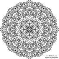 Krita Mandala 39 by WelshPixie