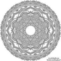 Krita Mandala 40 by WelshPixie