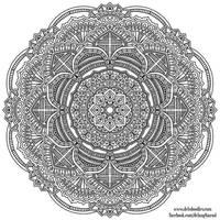 Krita Mandala 41 by WelshPixie