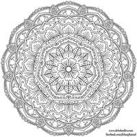 Krita Mandala 42 by WelshPixie