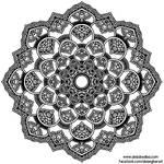 Little Flowers Mandala #1