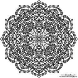 Krita Mandala 49 by WelshPixie