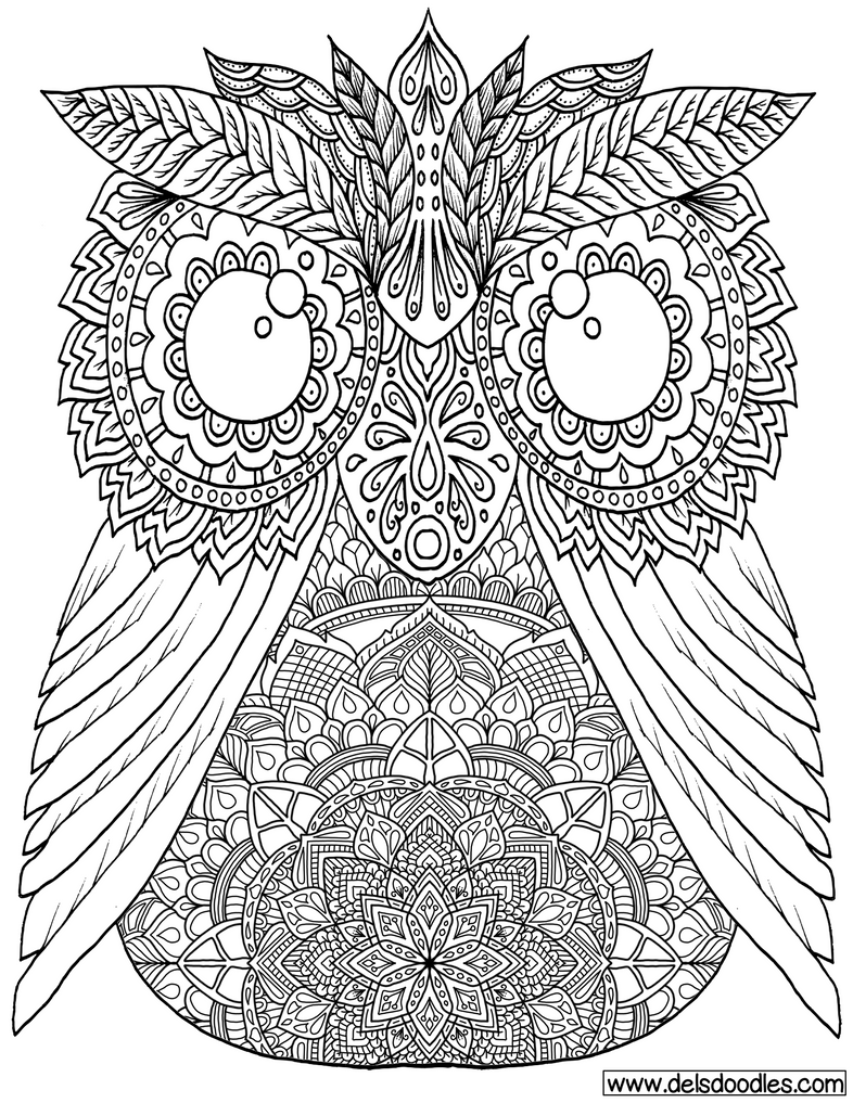 owl colouring page by welshpixie on deviantart. Black Bedroom Furniture Sets. Home Design Ideas