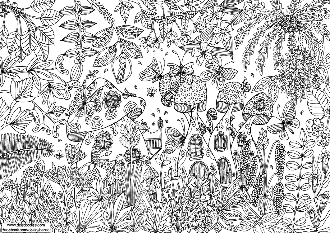 del u0027s doodles is creating colouring pages patreon