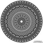 Egyptian-Themed Mandala