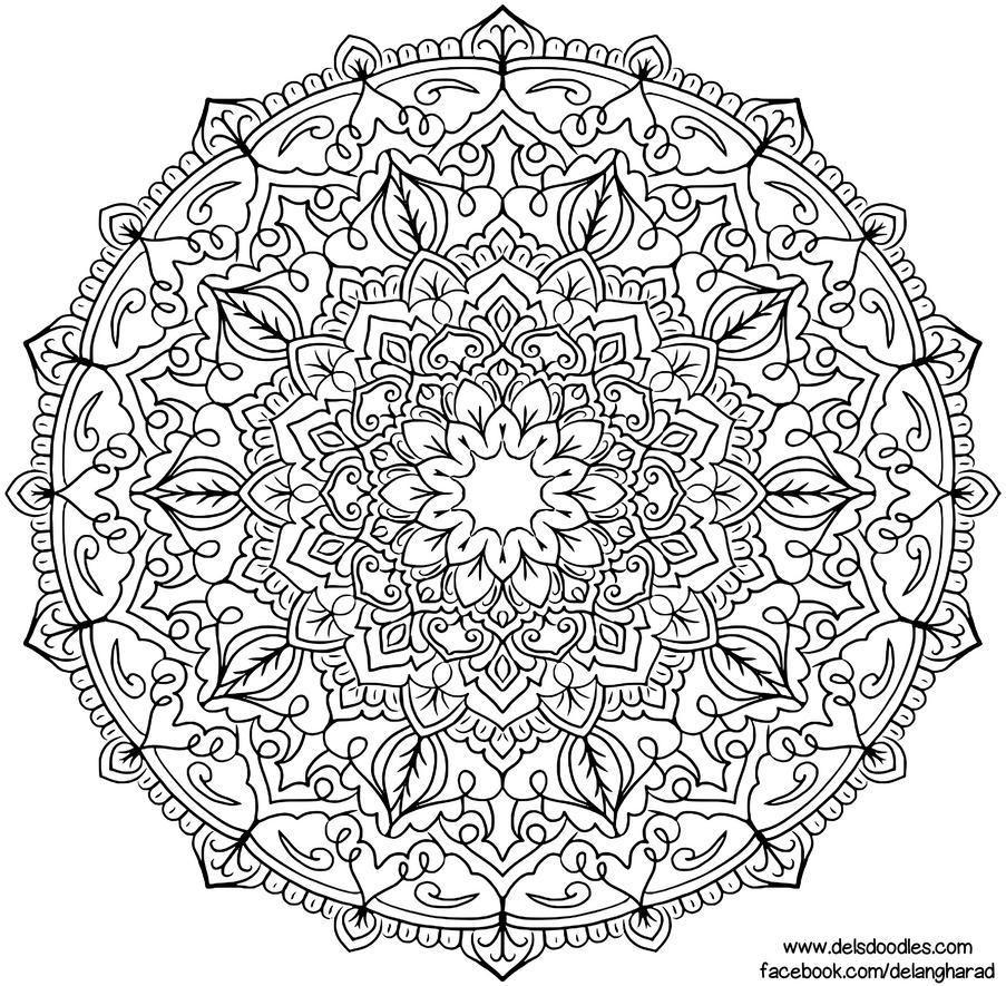 Krita Mandala 55 by WelshPixie
