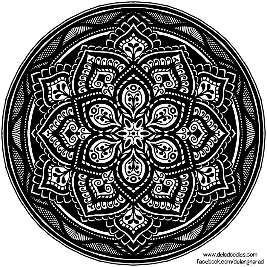 Krita Mandala 57 by WelshPixie