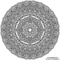 Krita Mandala 53 by WelshPixie