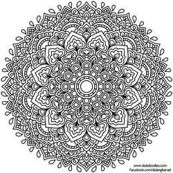 Krita Mandala 58 by WelshPixie