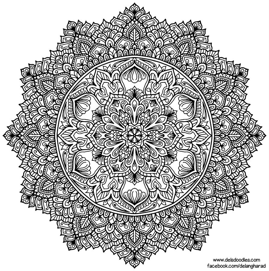 Krita Mandala 59 by WelshPixie