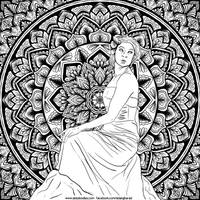 Mandala Lady
