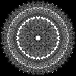 Large Detailed Mandala